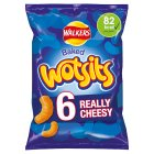 Walkers Wotsits really cheesy multipack crisps - 6x16.5g