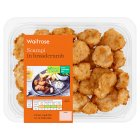 Waitrose scampi in breadcrumbs - 200g