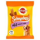 PEDIGREE Schmackos Dog Treats Meaty Selection 20 Sticks - 172g