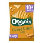 Organix goodies organic curly puffs - 4x15g