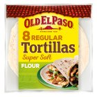 Old El Paso Original Super Soft Flour Tortillas x8 - 326g