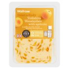 Waitrose Yorkshire mild Wensleydale cheese with apricot, strength 2 - 225g