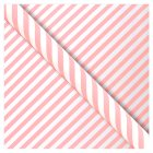 Waitrose Gift Wrap 2M Pink Candy Stripe -