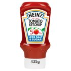 Heinz Tomato Ketchup 50% Less Sugar/Salt - 435g