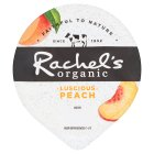 Rachel's organic forbidden fruits peach yogurt - 150g