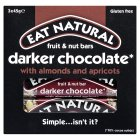 Eat Natural dark 70% chocolate with almonds and apricots - 3x45g