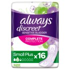 Always discreet small plus - 16s