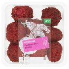 Waitrose World Deli Beetroot, Feta Falafel - 190g