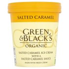Green & Black's Salted Caramel Ice Cream - 500ml