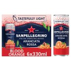 San Pellegrino sparkling blood orange - 6x330ml