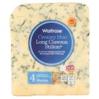 Waitrose creamy blue mature Long Clawson Stilton cheese, strength 4 - 227g