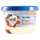 Yeo Valley 0% Fat Greek Style Mango & Strawberry - 450g