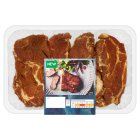 Waitrose 4 BBQ Pork Steaks - 500g